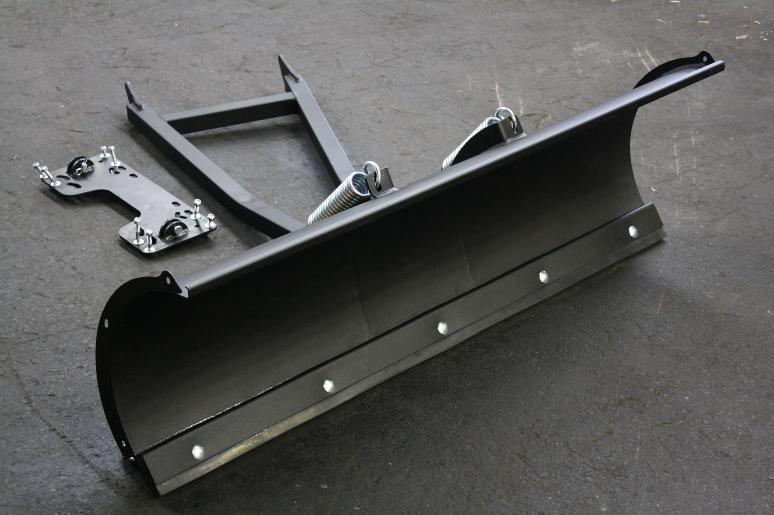 schneeschild schneer umschild f r quad atv traktor etc ebay. Black Bedroom Furniture Sets. Home Design Ideas